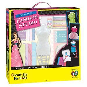 Creativity For Kids Designed By You Fashion Studio Fashion Design Kit For Kids 92633125205 Ebay