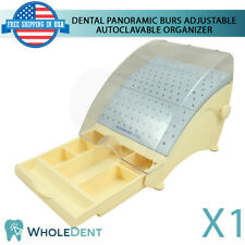 Panoramic Burs Adjustable Plastic Autoclavable Organizer Dental Tool Drawer