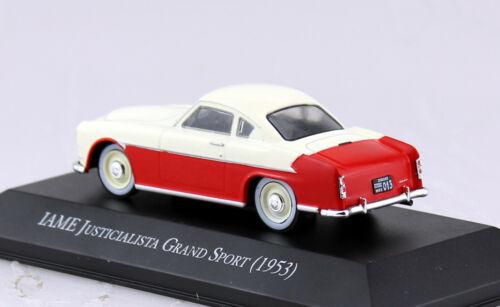 IAME justicialista grand sport 1953 blister 1:43 Salvat Ixo maqueta de coche
