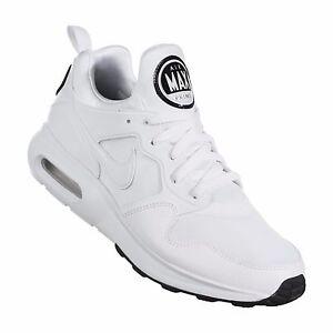 Men-039-s-Nike-Air-Max-Prime-White-Platinum-Black-Sizes-8-12-New-In-Box-876068-100