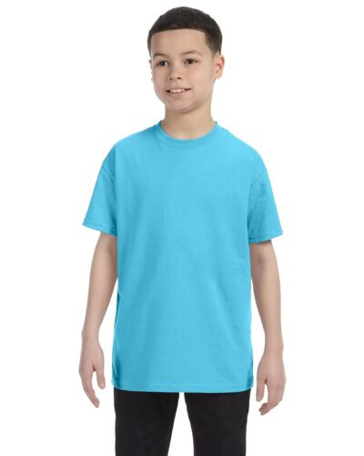5450 Tagless Short-Sleeve T-Shirt Hanes Youth 6.0 oz