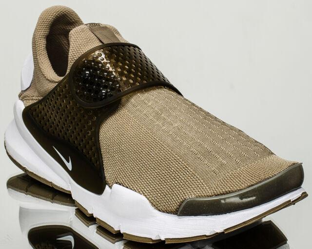 pretty nice 4119f 933c4 Nike Sock Dart KJCRD Jacquard Khaki White Men Running Shoes SNEAKERS  819686-200 9