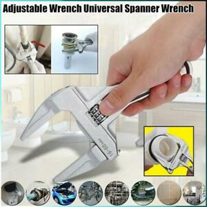 Mini Adjustable Spanner Wrench Short Shank Large Openings 6-68mm Ultra Thin J8T5