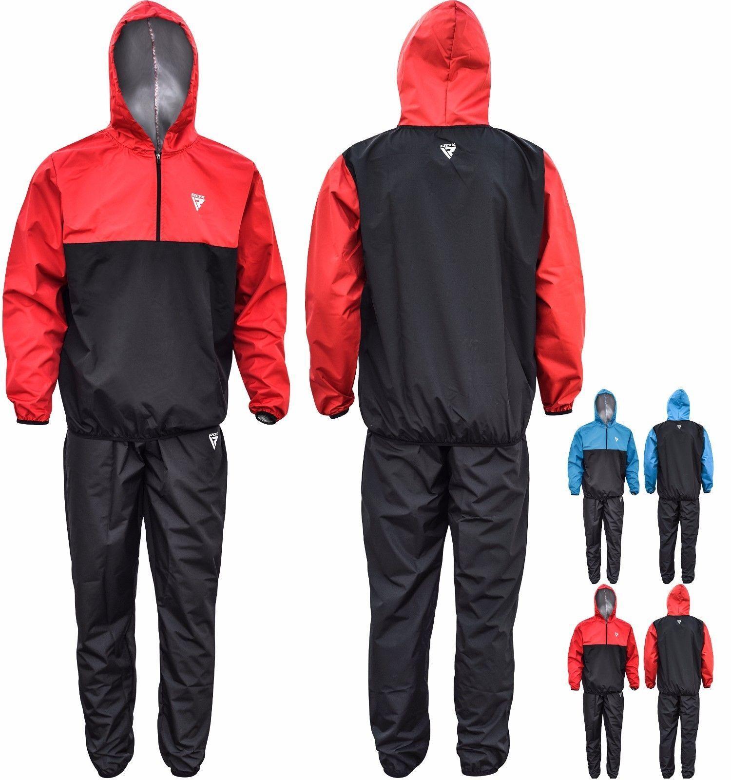 RDX Combinaison Sudation Fitness SurvêteSiet EntraîneSiet Sauna Suit Perte Poids