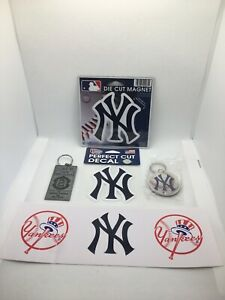 New York Yankees Fan Lot SGA Derek Jeter Keychain Decal Magnet Sticker