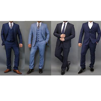 Ernst Mens Blazers Waistcoats Trouser 3 Piece Suits By Cavani & Mareno Eine GroßE Auswahl An Waren