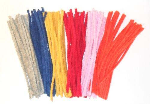 15.2cm By 4mm Stärke Verschiedenen Farben Erhältlich Pipecleaners 150mm Lang