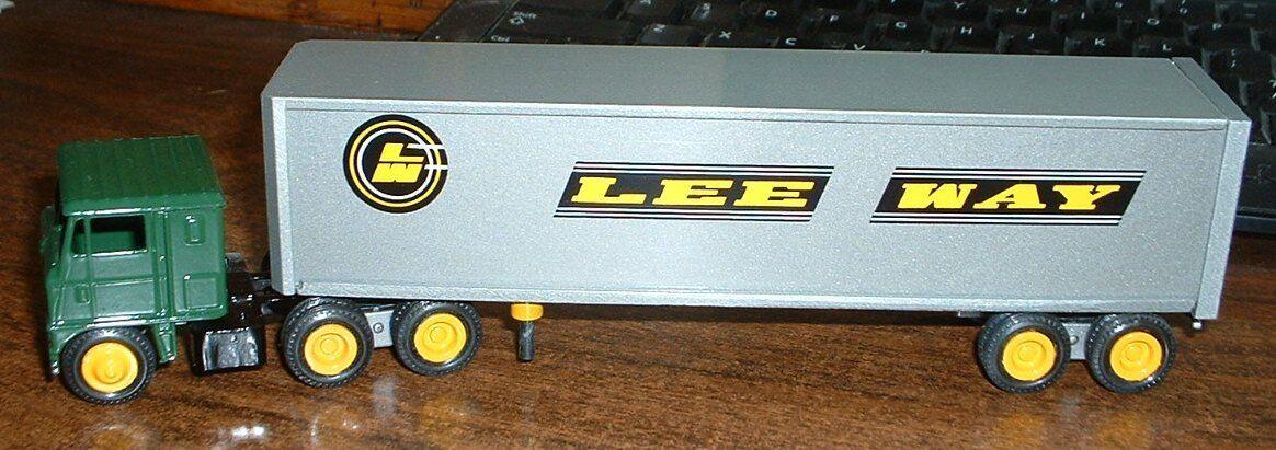 Lee way Cochego volvió a lanzar un winross en el 86, con 72 camiones.