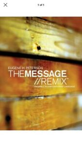 Bible-Message-Remix-The-Bible-in-Contemporary-Language-Hardcover-by-Peterson