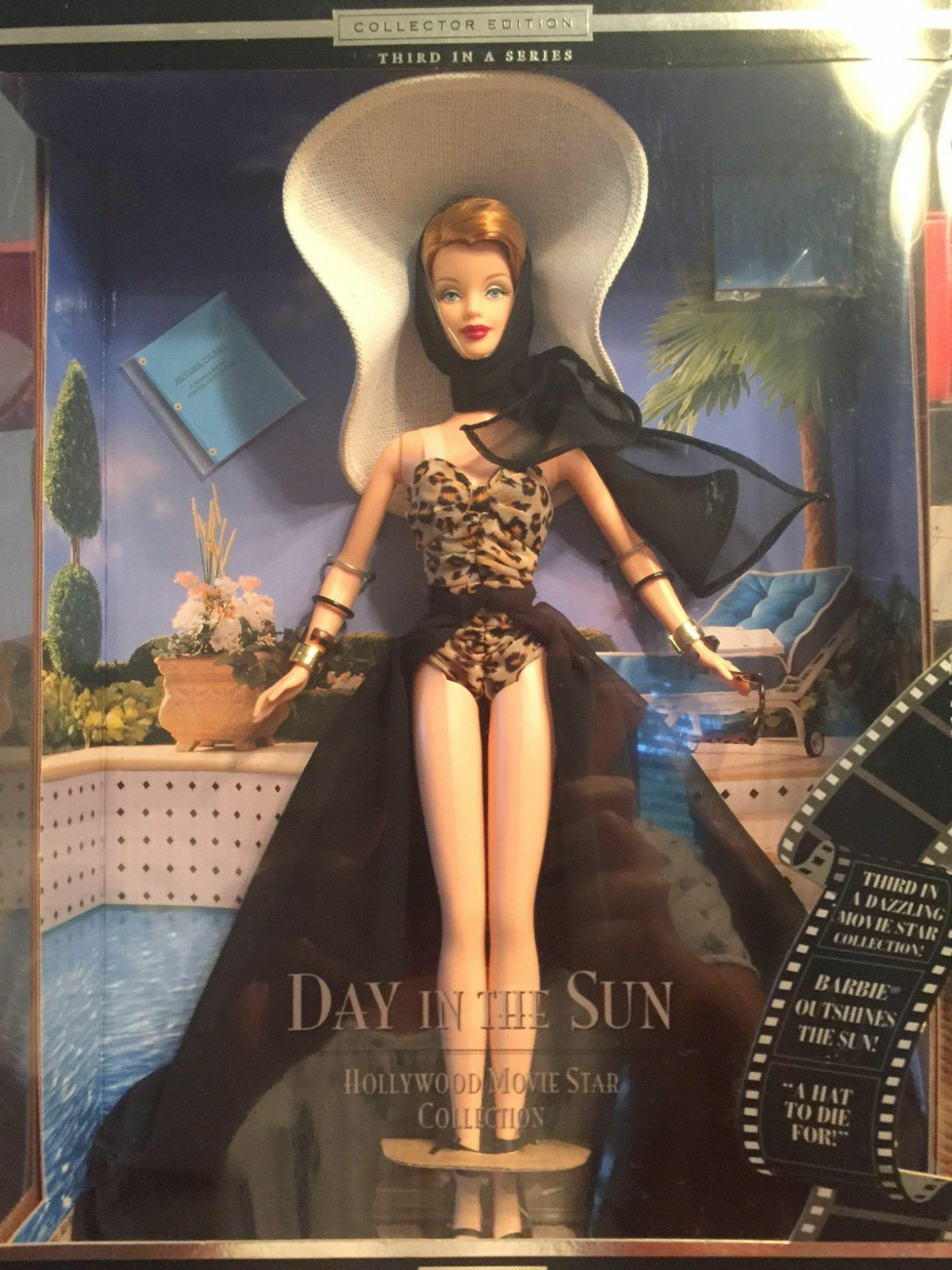 @-BARBIE MOVIE STAR HOLLYWOOD-DAY IN THE SUN-COLLECTOR CLUB PUPPE MONROE/DEAN