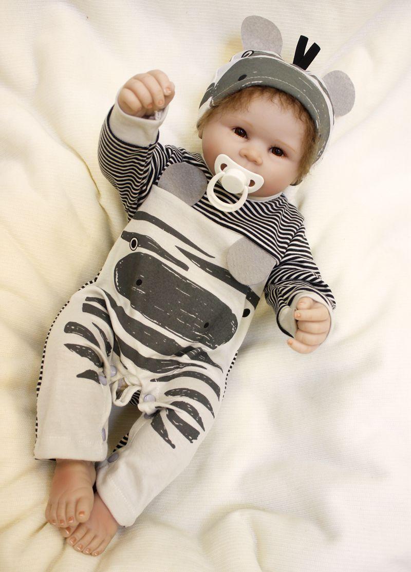 2018 HOT fatti a mano completa del corpo in silicone VINILE realistici RINATO Baby doll ragazzo 22
