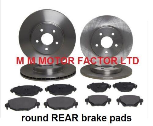 00 1.8 2.0 2.2 2.5 Discos de freno delantero y trasero y Almohadillas Set Ford Mondeo MK3