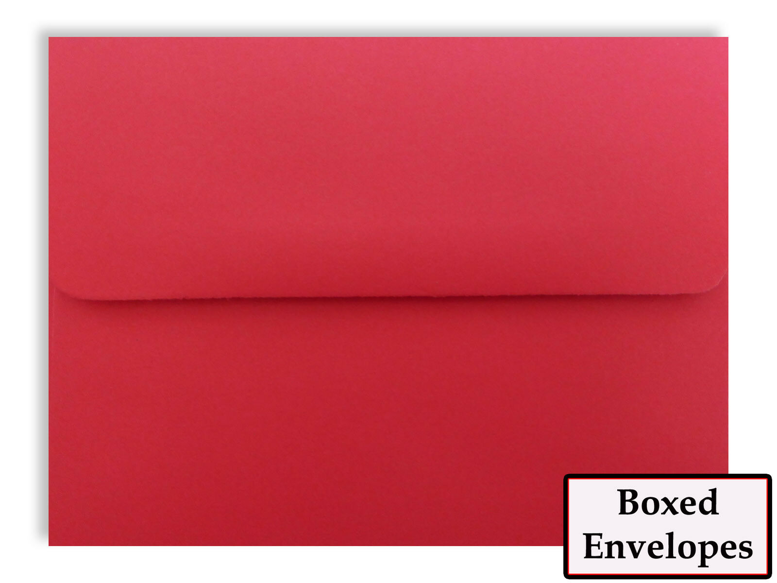500 Boxed Holiday rouge Envelopes for Cards Invitations Announcements Shower
