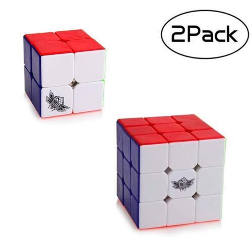 Cubo Rubik 3by3 2by2 Rubix Cube 3X3 2X2 Rubik Cube Hot Toys Puzzles Kids Set 2