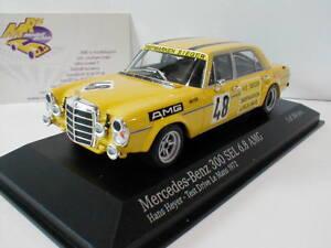 Minichamps-400723448-Mercedes-Benz-300-SEL-6-8-AMG-No-48-LeMans-1972-1-43