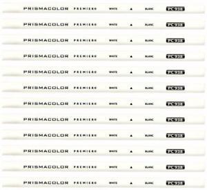 Prismacolor Premier Colored Pencil - White - PC938 (3365) - 12PC