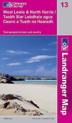 West Lewis and North Harris by Ordnance Survey (Sheet map, folded, 2008)