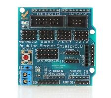 FREEPOST Arduino Compatible Sensor Shield V5.0 Expansion Board UNO MEGA CHIP 15