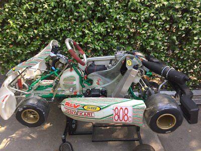 2015 TONY KART RACER 401 Used Only One Season OTK, X30, TAG