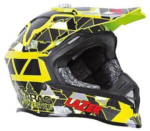 LAZER-X8-HELMET-ARAS-BLACK-MULTI-ADULT-MOTOCROSS-MX-ENDURO-QUAD-ATV-BMX-MTB-NEW
