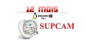 Activator supcam enigma2 uniquement SAT+IP+ VOD