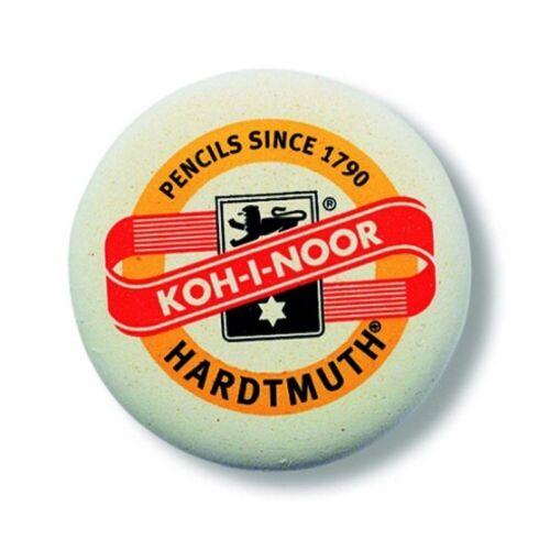 K6302-12 1,32€//St für Graphit 12 x KOH-I-NOOR Ø 52 mm Radiergummi rund
