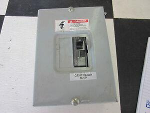 rv generator main circuit breaker box toy hauler ebay rh ebay com circuit breaker box blanks circuit breaker box lock