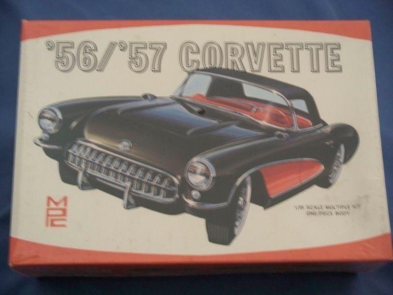 Auto - modell vintgae mpc  56   '57 corvette build 8 wege verschlossen fr 48 jahr alt.