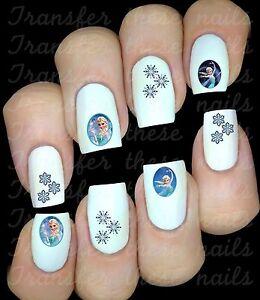 La-reine-des-neiges-Autocollant-Stickers-ongles-nail-art-manucure-water-decal