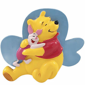 Winnie The Pooh Piglet Magnet Disney Friendship Hug Fridge Refrigerator Magnet