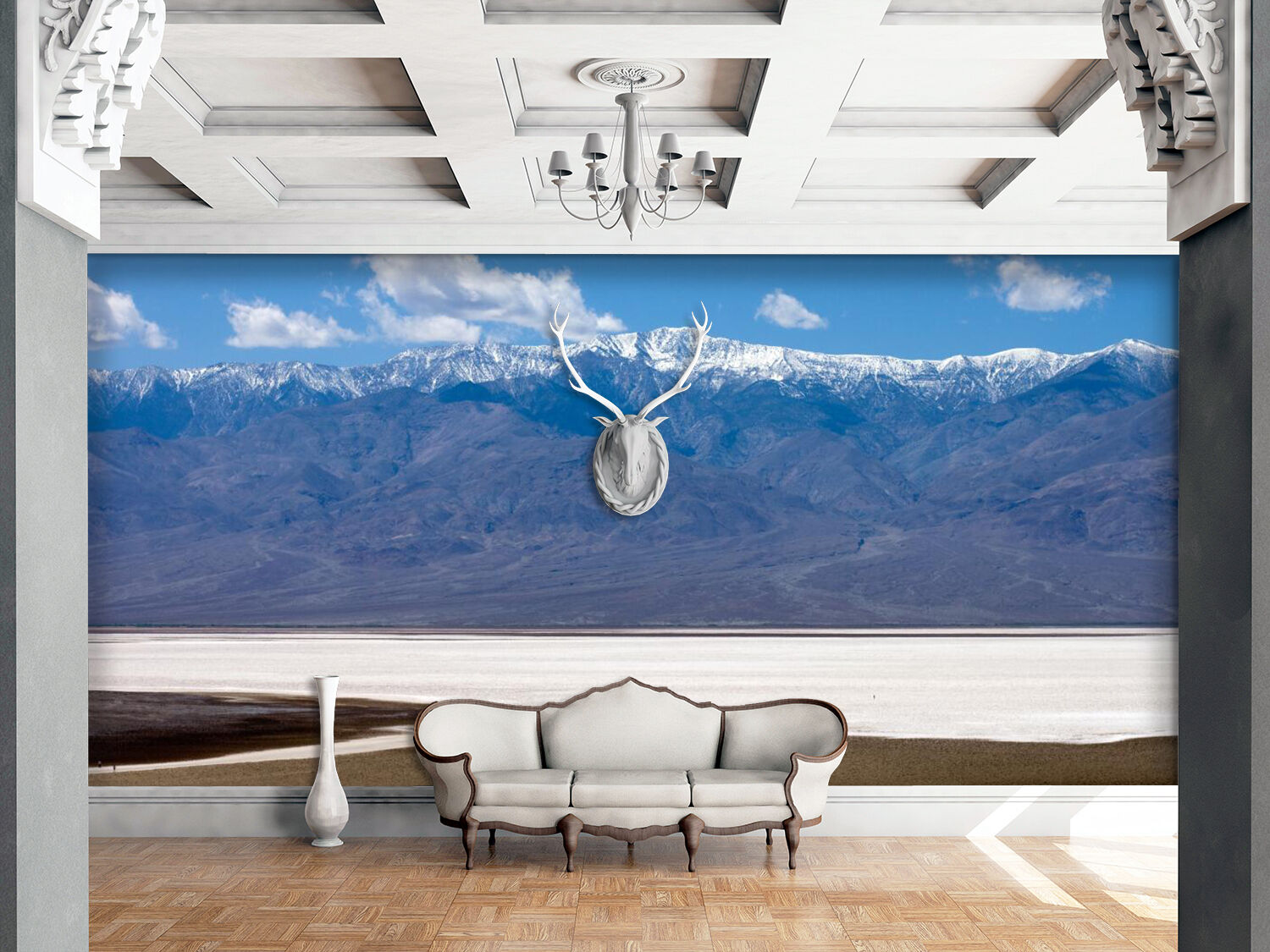 3D Fuzzy Mountains 4366 Wall Paper Wall Print Decal Wall Indoor AJ Wall Paper