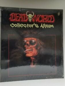 Lot-of-2-Dead-World-Collectible-Trading-Card-Binder-Album-With-Promo-Cards