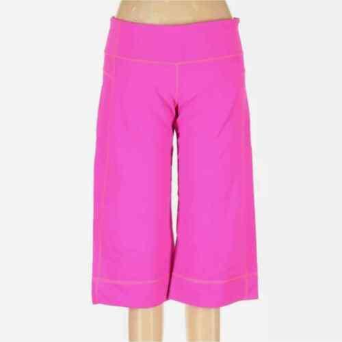 Lululemon Hot Pink Wide leg Knee High Leggings - image 1