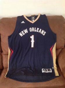 Adidas tyreke evans new Orleans pelicans  1 nba jersey NWT size XL ... ad620fe77