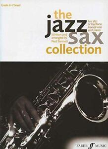 The-Jazz-Sax-Collection-Alto-or-Baritone-Saxophone-by-Ned-Bennett-NEW-Book