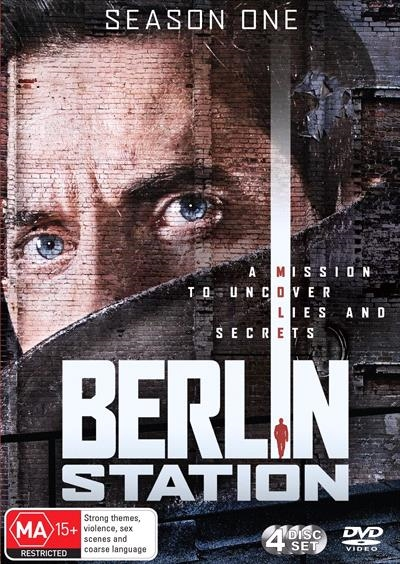 Berlin Station : Season 1 (DVD, 4-Disc Set) NEW