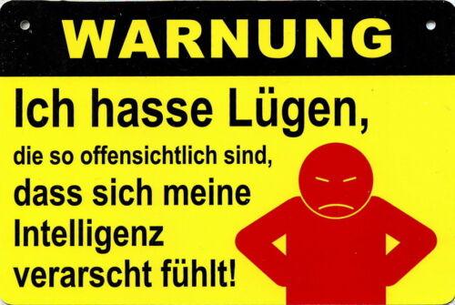 """107 /"""" Ich hasse Lügen.../"""" WARNUNG"""