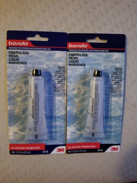 3M 20126 Bondo Fiberglass Resin Liquid Hardener