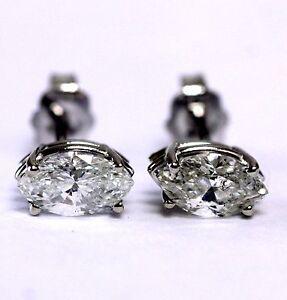 56380e24eb9 EGL GIA certified New 14k white gold 1.16ct SI2-3 I marquise diamond ...