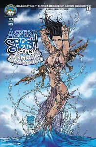 ASPEN-SWIMSUIT-SPLASH-2013-Special-Pin-Up-Edition-MICHAEL-TURNER-Fathom-Soulfire