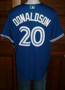 Josh-Donaldson-Toronto-Blue-Jays-ADULT-Majestic-Cool-Base-Jersey-New-Sz-S-NWT