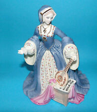Wedgewood estatuilla Royal King Henry's 'Jane Seymour' le 1st Calidad