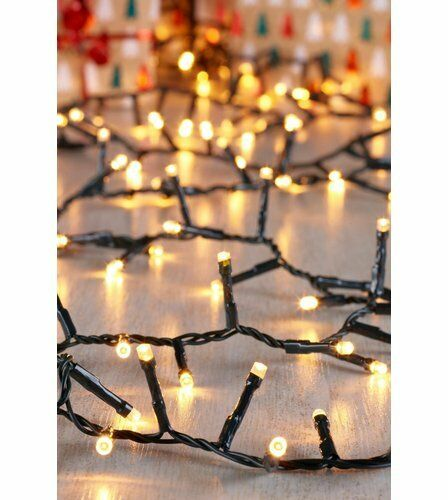 720 LED Fairy Christmas Tree Compact Lights Outdoor Warm White Multi-Function