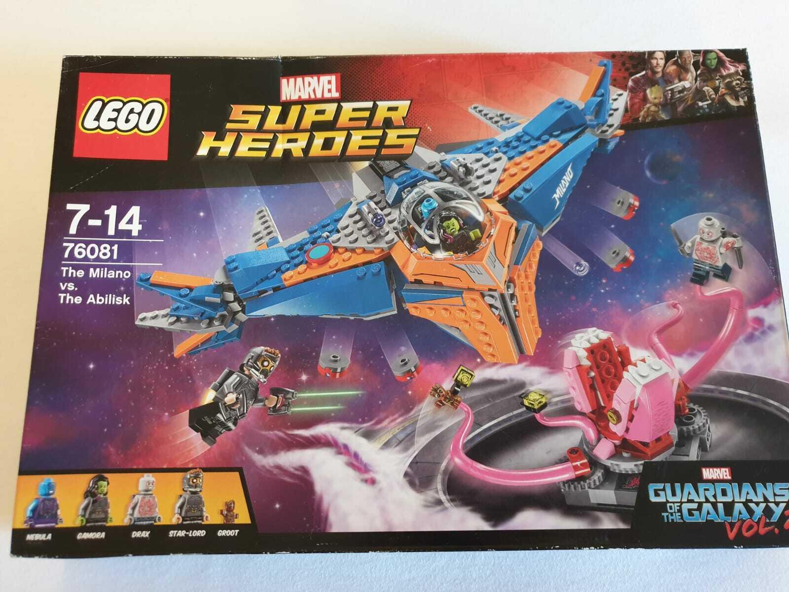 LEGO®  Marvel Super Heroes Die Milano gegen den Abilisk NEU & OVP 76081 Guardian