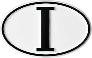 Italien-I-Hoch-Relief-Italy-Schild-3D-Emblem-HR-Art-15784-selbstklebend