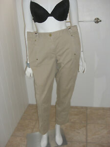 Chico-039-s-Pants-Tan-Beige-Khaki-Size-2