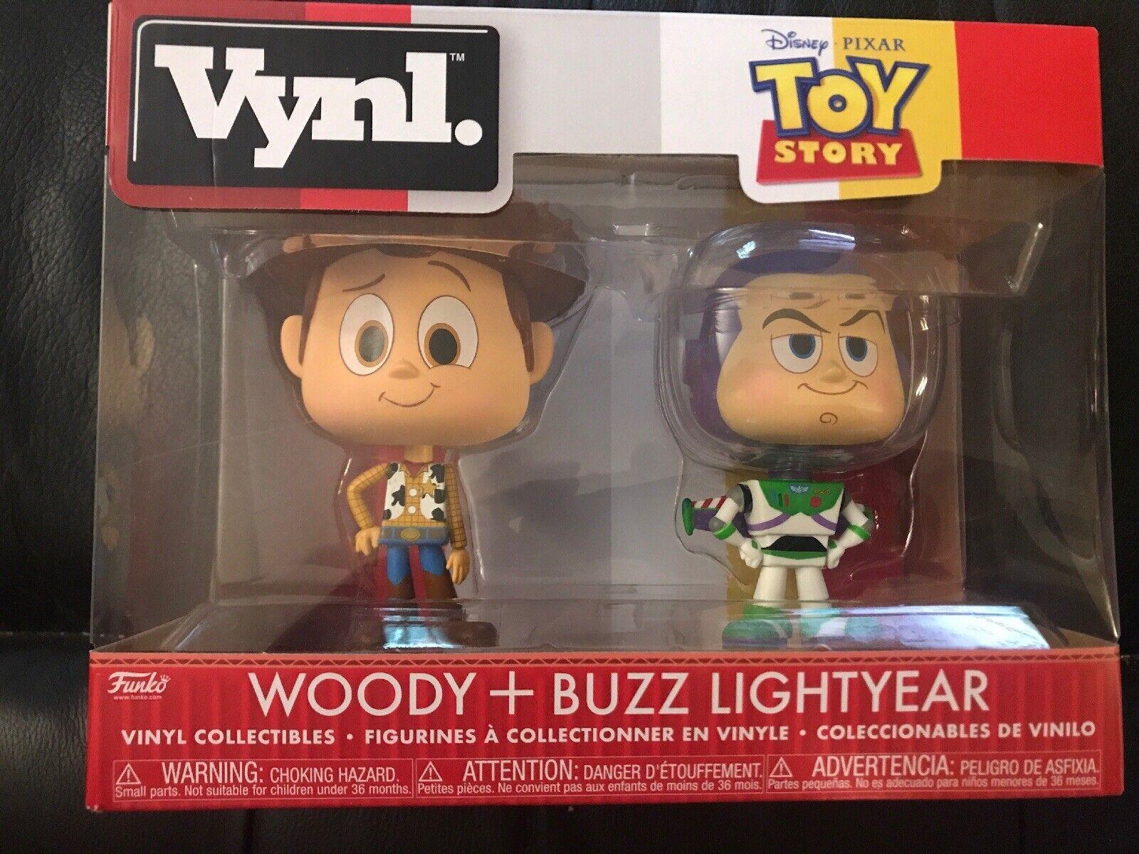 Toy Story WOODY /& BUZZ LIGHTYEAR Funko VYNL