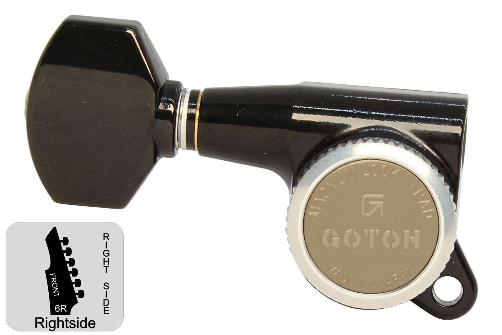 GOTOH SG381-07-MGT Locking Tuners w    Small Knobs - schwarz - 6R ecd8ce