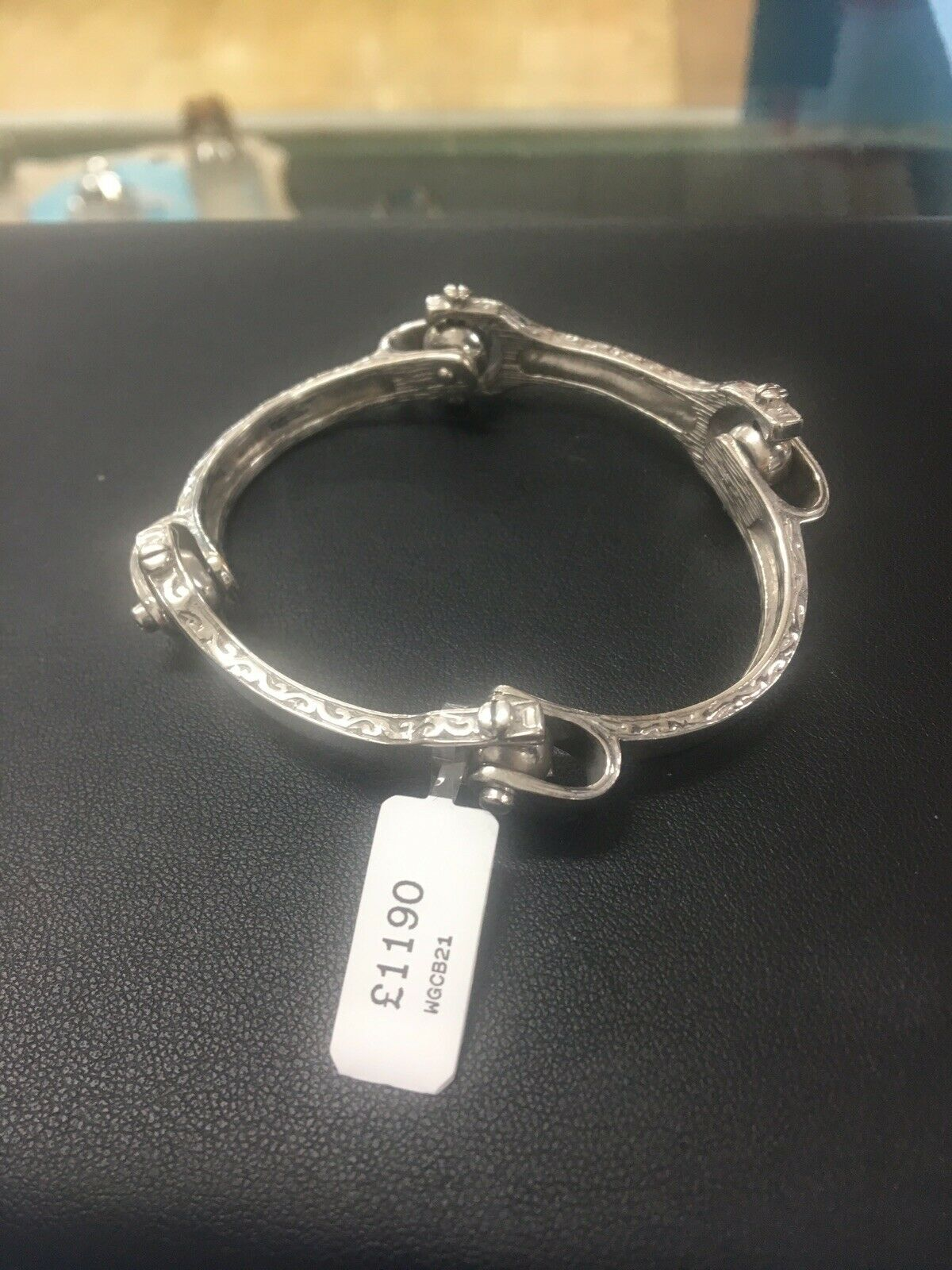 9ct White gold Capricorn Bracelet