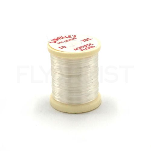 Jig /& Fly Tying Nymph Body Material DANVILLE ACETATE FLOSS 10 Yd Spool NEW!